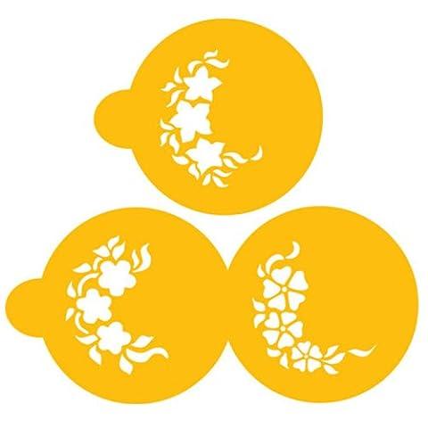 Designer Stencils C349 Spray Mini Floral Sprays