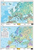 Mapa Europa físico-político, E 1:5.500.000