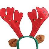 kimberleystore Creative Navidad ciervos cuernos de reno diadema orejas decorado