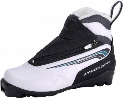 TecnoPro Safine Sonic Pro Damenlanglaufschuh (Schuhgröße: 42.0 (UK=8.0), Farbe: 900 weiß/charcoal/blau)