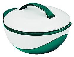 TV Unser Original GOURMETmaxx metallic, 1100ml-smaragdgrün/weiß Thermoschüssel, Kunststoff, grün, 24x20.3x14 cm
