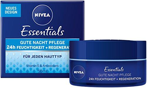 Nivea Pflegende Gute-Nacht-Creme Regenerierende, 2er Pack (2 x 50 ml)