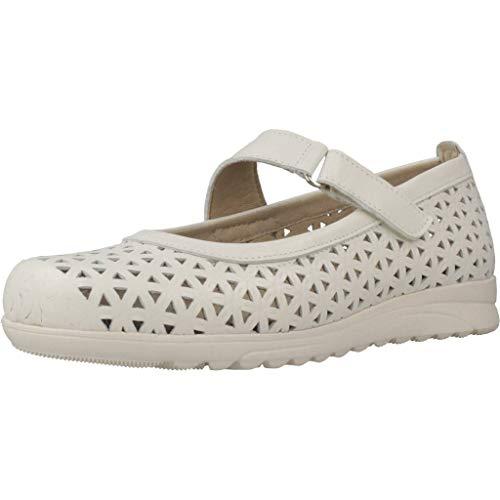 Pitillos Zapatos Cordones Mujer 2922 V19 para Mujer Blanco 38 EU