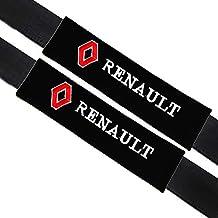 VILLSION 2Pack Almohadillas para cinturón de seguridad Auto accesorios Renault, Algodón suave protege tu cuello