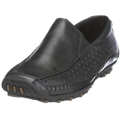 Rieker 08967 hommes noir cuir Derbies, EU 47