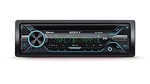 Sony MEX-N5200BT Autoradio con CD, Microfono Esterno Incluso, Illuminaz. Personalizzabile 35.000 Colori, Controllo Vocale con Siri Eyes Free e Android, NFC, Dual Bluetooth, USB (iPhone/iPod), 4 x 55 W