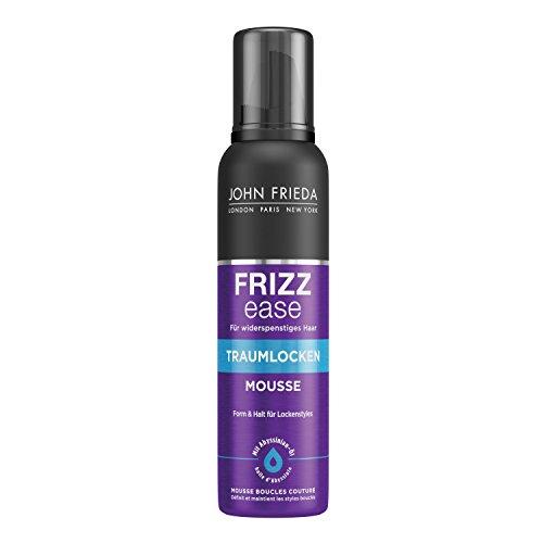 John Frieda Frizz Ease Traumlocken Mousse - 1x 200 ml - Form und Halt für natürlich aussehende Locken wie im Salon kreiert