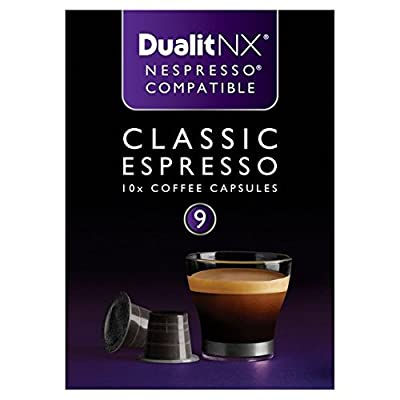 Dualit Classic Nespresso Compatible NX Coffee Capsules 10 per pack