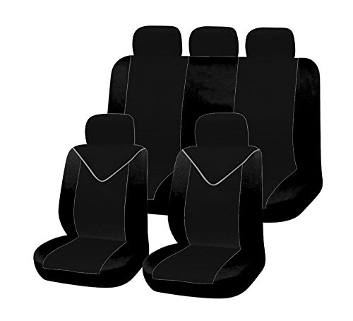 ERJOT2010 Universal Komplett Set Autositzbezüge Sitzbezüge Schonbezüge