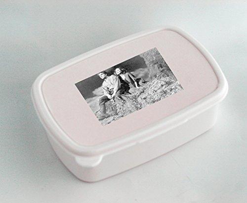Blanco caja de almuerzo con Laurence Olivier y Merle Oberon en la Move Wuthering Heights