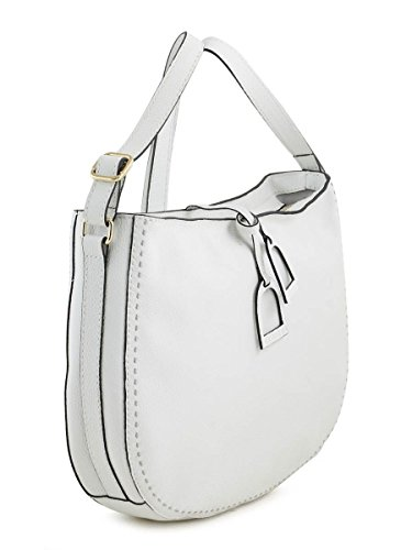 SAC BANDOULIERE PORTE TRAVERS Tradition cuir TRADITION Blanc
