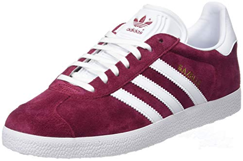 0ac048b45f3 adidas Men s s Gazelle Gymnastics Shoes Red Collegiate Burgundy FTWR White Gold  Met