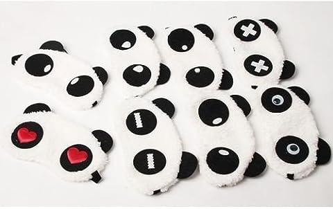 Panda masques de sommeil Eye Patch Abat-jour Masque de voyage