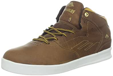 Emerica Men's The Reynolds Lx Skateboarding Shoes  Brown Size: 12
