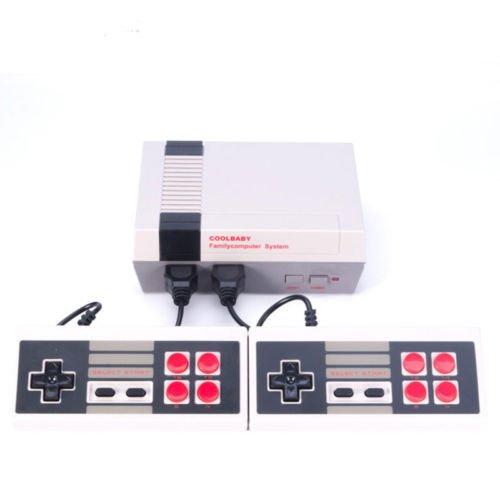 Spiele Console Classic Family Game Konsolen System Profi für Nes Game Player integriertem 600TV Video Game mit Dual Controllers (3ds Xl-retro-nes-edition-system)