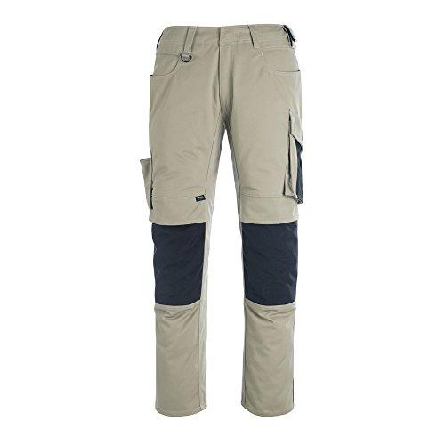 Mascot - Pantaloni da lavoro con rinforzi in CORDURA® 50 Khaki/Schwarz