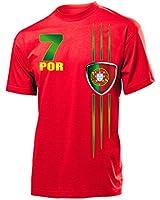 FOOTBALL WORLD CUP - EUROPEAN CHAMPIONSHIP - PORTUGAL SHIRT Men Unisex T-Shirt size S to XXL various colours