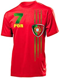 FOOTBALL WORLD CUP - EUROPEAN CHAMPIONSHIP PORTUGAL FAN T-Shirt Homme Small - XX-Large