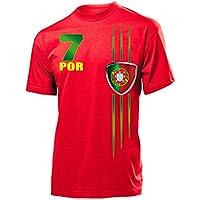 10 verschiedene PORTUGAL FANSHIRTS Motive auswählbar - Herren T-Shirt Gr.S bis XXL - Golebros