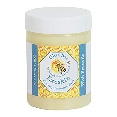 100% Natural Exeskin Dry itchy Skin Balm suitable for People Prone to Eczema, Psoriasis,Dermatitis.Formulated with Beehive and Plant Products 100 ml