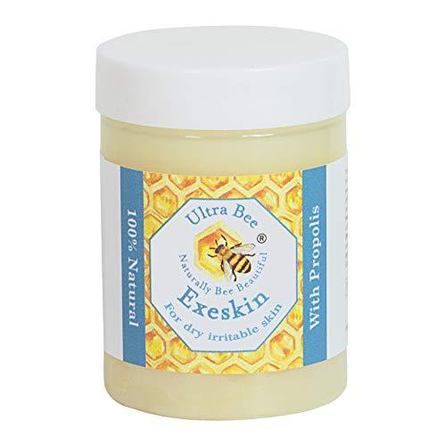 100% natürlicher Exeskin-Balsam für trockene, juckende, reizbare Problem haut - Geeignet für Erwachsene und Kinder, die anfällig für Ekzeme, Psoriasis und Dermatitis sind. Steroidfrei. 100 ml - Trockene Haut Salbe