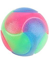 Palle di gomma infiammabili durevoli dell'animale domestico delle palle infiammabili dell'animale domestico del giocattolo di masticazione del cane di masticare della palla di gomma della luce