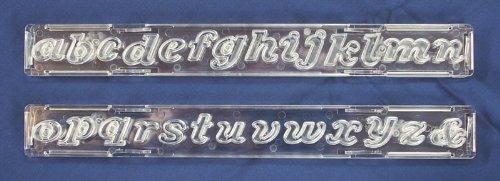 Kleinbuchstaben-Ausstecher Clikstix Script von Windsor Cake Craft