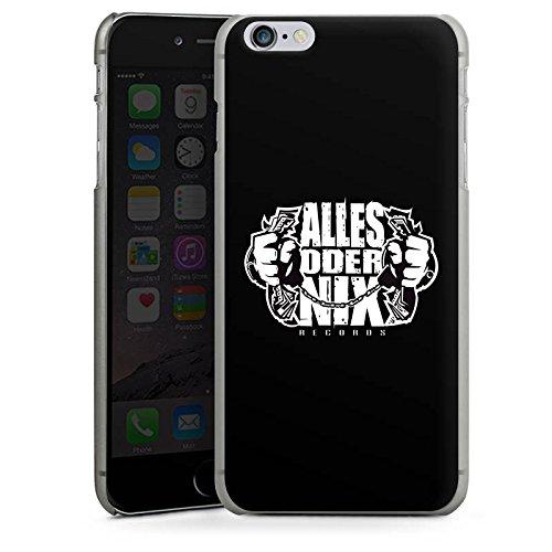 Apple iPhone X Silikon Hülle Case Schutzhülle Xatar Fanartikel Merchandise Alles Oder Nix Hard Case anthrazit-klar
