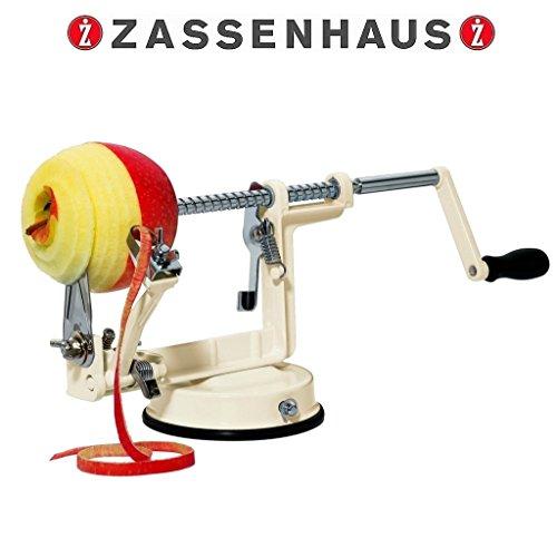 Zassenhaus - Apfelschäler im Retro-Desig 3 in 1 creme 072013