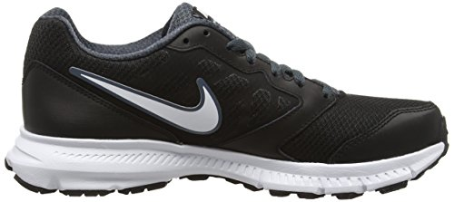 Nike Downshifter 6 Scarpe da corsa, Uomo Nero (Black/White/Dark Magnet Grey)