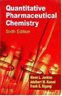 Quantitative Pharmaceutical Chemistry