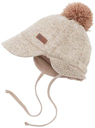 Sterntaler Baby-Jungen Mütze Schirmmütze, Braun (Schlamm 946), 53 cm