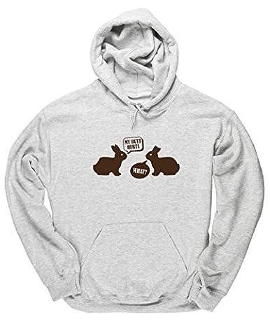 HippoWarehouse - Sweat-shirt à capuche - Homme - gris - X-Large