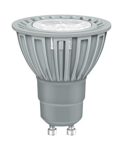 Osram LED Superstar PAR16 advanced 4W entspricht 35 W, Sockel Gu10, Reflektorlampenform, 50 mm, 25° dimmbar, 600 cd, extra warmton (827) 901865