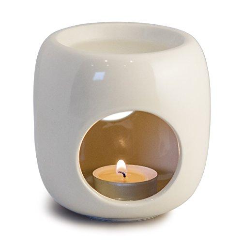 Sabai Scent Pure - Keramik Duftlampe / Duftlicht - weiß