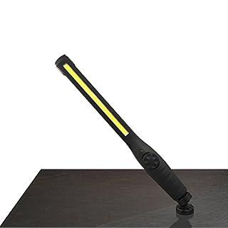 COB Light , Xshuai 40SL 410 Lumen Rechargeable COB LED Slim Work Light + USB Cable (Black)