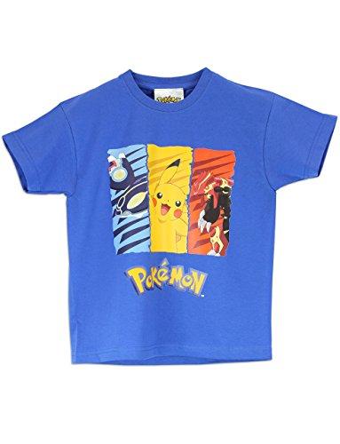 Pokemon - Maglietta a maniche corta Ragazzi - Pokemon - 7 a 8 Anni