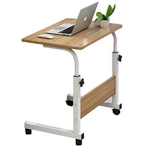 Gbf Computertisch Computertisch am Bett fauler Laptop-Schreibtisch Bett Computertisch Einfacher beweglicher Nachttisch Faltbar Hebbar