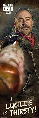 The Walking Dead - Negan - Tür Filmposter Kino Movie TV Serie - Größe 53x158 cm