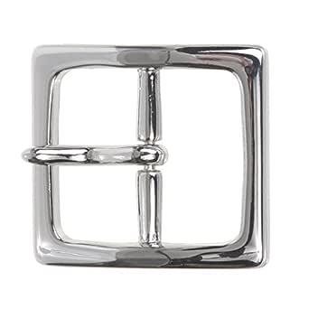 1 1//2 40 mm Nickel Free Center Bar Single Prong Square Belt Buckle