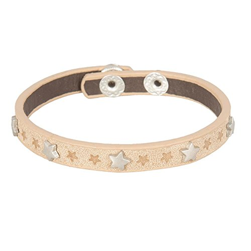 Armband Farbe: Beige, Material: Polyurethan,
