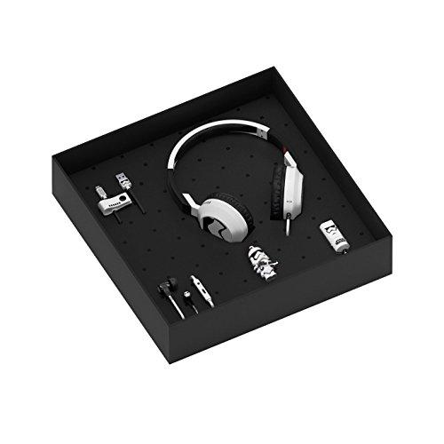 Tribe Star Wars Geschenkbox inkl. USB Stick 16 GB, Micro USB Kabel, KFZ Auto Ladegerät, In-Ear Ohrhörer und On-Ear Kopfhörer mit Mikrofon - (Star Wars Zubehör)