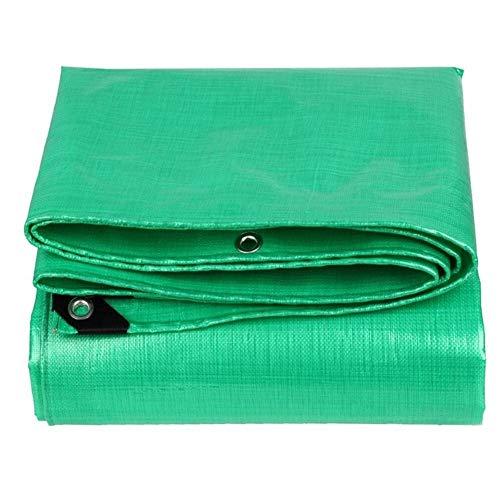 ichtes Planen-Oxford-Tuch mit Ösen, wasserdichtes, abriebfestes Hochleistungs-PVC, Swimmingpool, Dachüberdachung, Bodenbelag LIUDINGDING (Color : Green, Size : 4 x 4m) ()