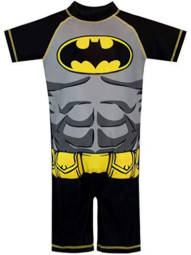 DC Comics Bañador para Niño Multicolor Batman 4-5 Años