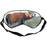 Eye Mask Eyeshade Red Panda Sleep Sleeping Mask Blindfold Eyepatch Adjustable Head Strap preisvergleich bei billige-tabletten.eu