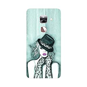 Digi Fashion Designer Back Cover with direct 3D sublimation printing for LeTV Max 2