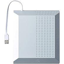 Gam3Gear Ventilador portátil externo Indicador LED del ventilador de refrigeración para Xbox One S Slim Consola Blanco