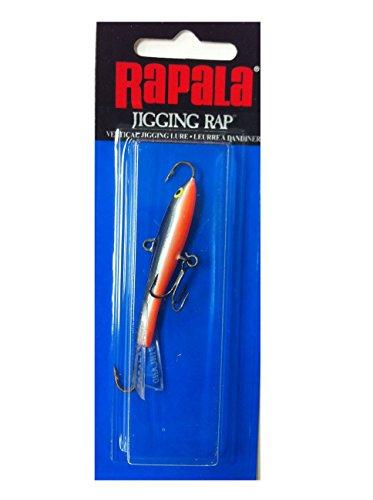 Rapala Jigging Rap 7 cm Farbe SSD - Silver Shad (Ice Fishing Rapala Jigging)