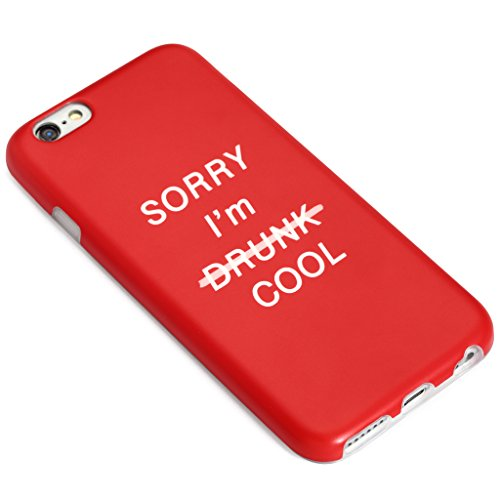 4.7 iPhone 6 6S SGSELLER TPU Slim Fit Ultra Dünn Stoßfest Anti-Kratz Anti-Fingerabdruck Matt Schutzhülle Gehäuse, Plastik, Elefanten Sorry I'm Cool