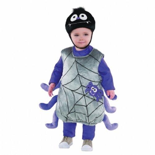 Amscan Kostüm, Itsy Bitsy Spider, 1-2 (Spider Baby Kostüme)
